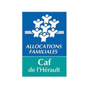 Logo Caf de l'Hérault