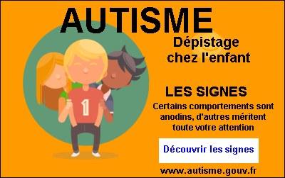 image signes autisme